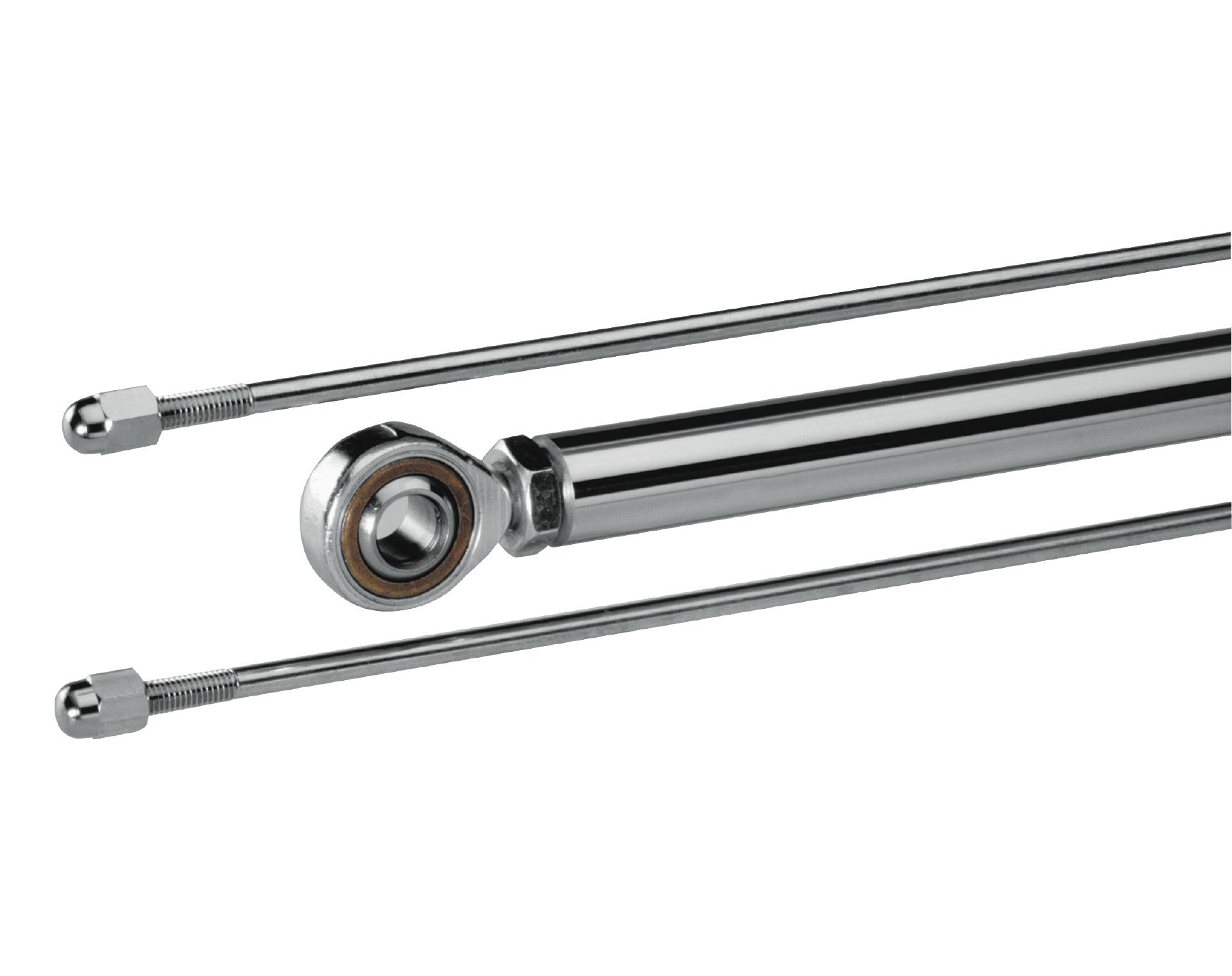 20 mm Kolben aus Stahl mit Kugelaufnahme