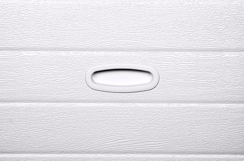 Griff PVC weiß versenkt