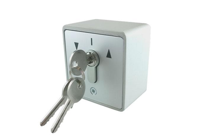 Schlüsselschalter aufputz