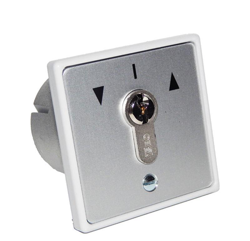 Schlüsselshalter unterputz