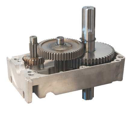 stabiles Stahlgetriebe